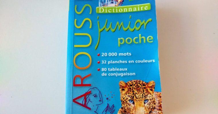 フランス語 学習用初めての仏仏辞典 Larousse Junior Poche