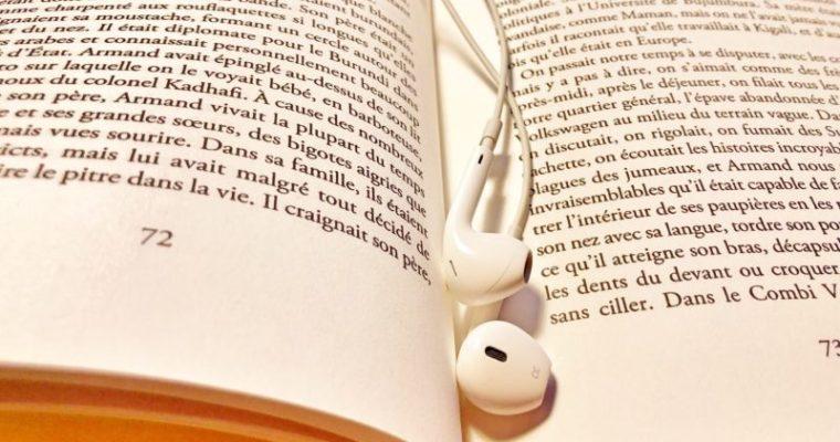 Audibleをフランス語の勉強に使うには?挫折しないコツ7つ。